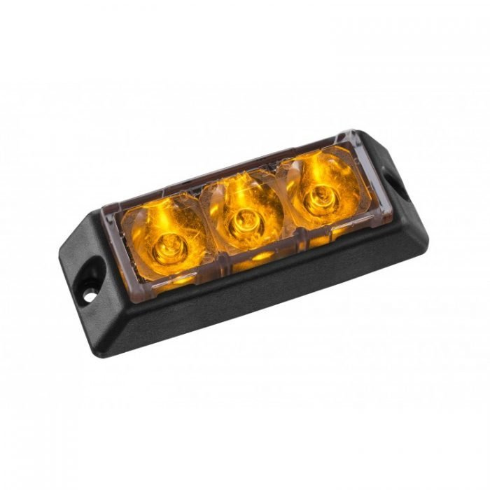 Body Mount Light Head-amber BM31S-LP-E9