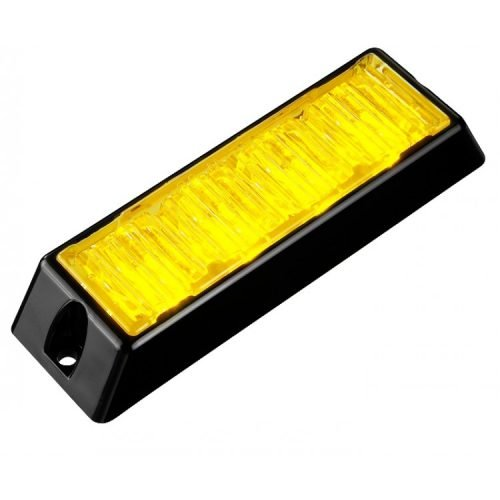 Body Mount Light Head 4 LED with amber color BM41S-A-3W