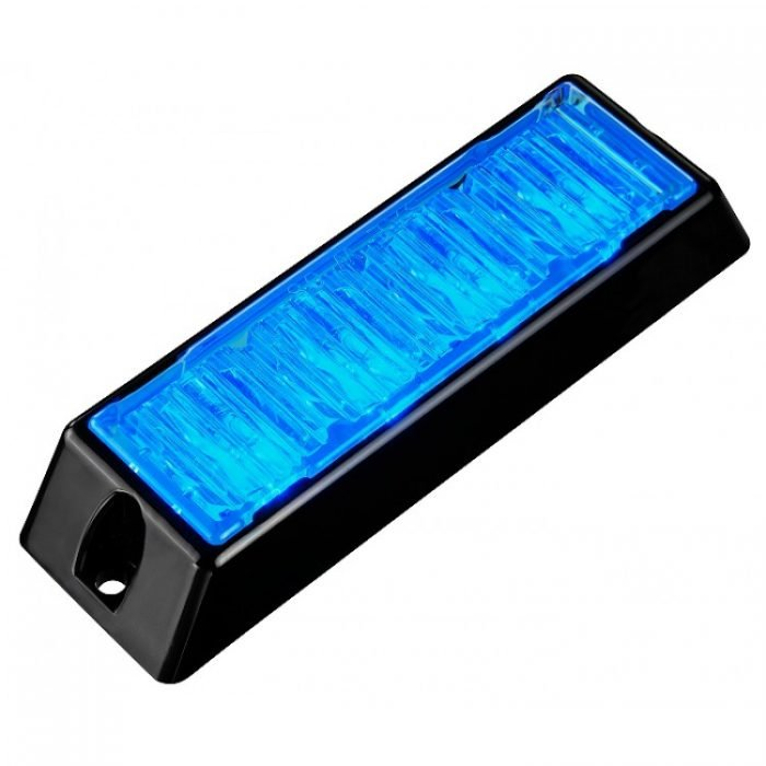 Body Mount Light Head 4 LED with blue color BM41S-B-3W