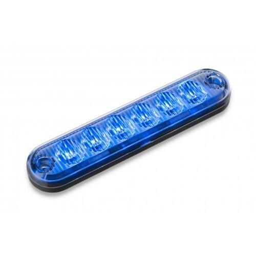 Body Mount Light Head 6 LED FLH61-B-E9 blue color
