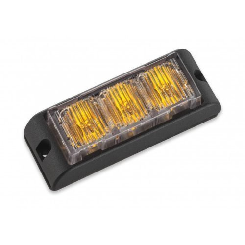 Body Mount Light Head 3 LED amber color LHA31S-A-3W