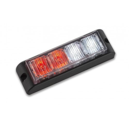 Body Mount Light Head 4 LED red and white color LHA41S-RW-3W