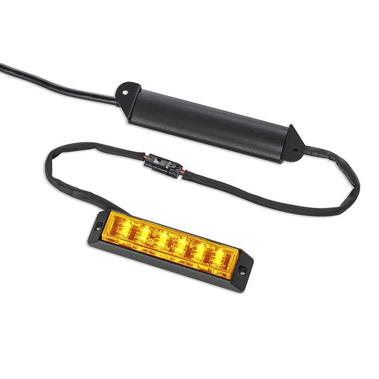 Body Mount Light Head 12 LED amber color LHDC122S-A-LP-E9