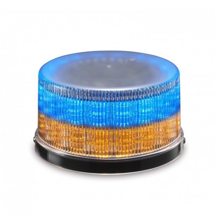 Beacon Strobe Warning Light BCDC-BA Blue with Amber Color