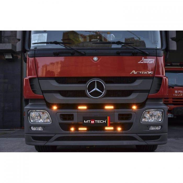 Hide Away Light HA82-H-A-BPLP-E9 amber on truck