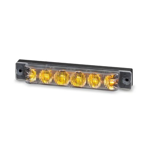 Body Mount Light Head 6 LED Amber color SA61-A