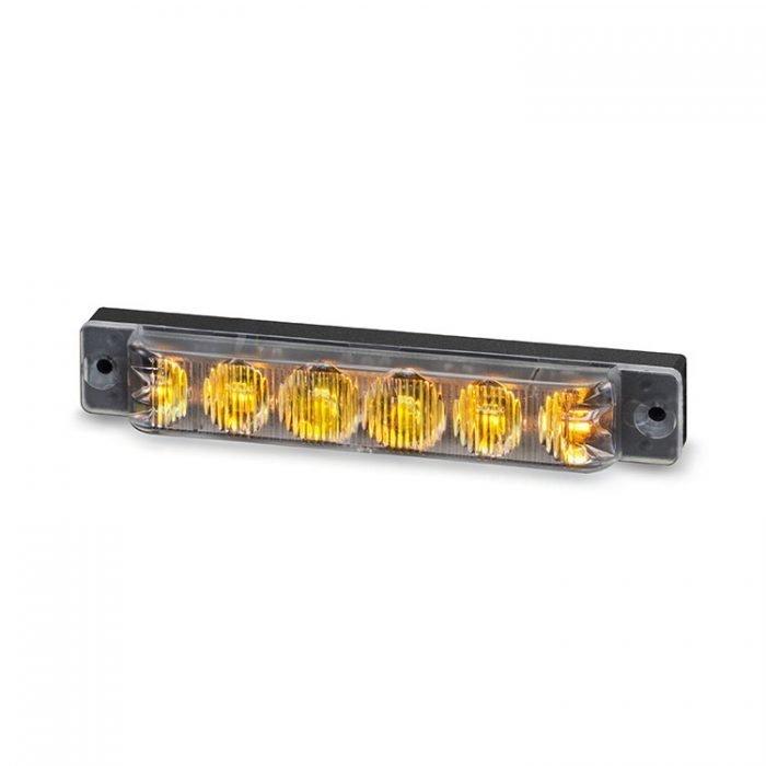 Body Mount Light Head 6 LED Amber color SA61-A