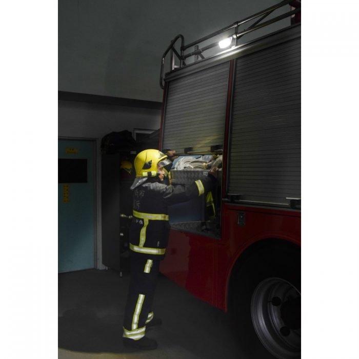 Scene Light SL12 install on firetruck open by fireman