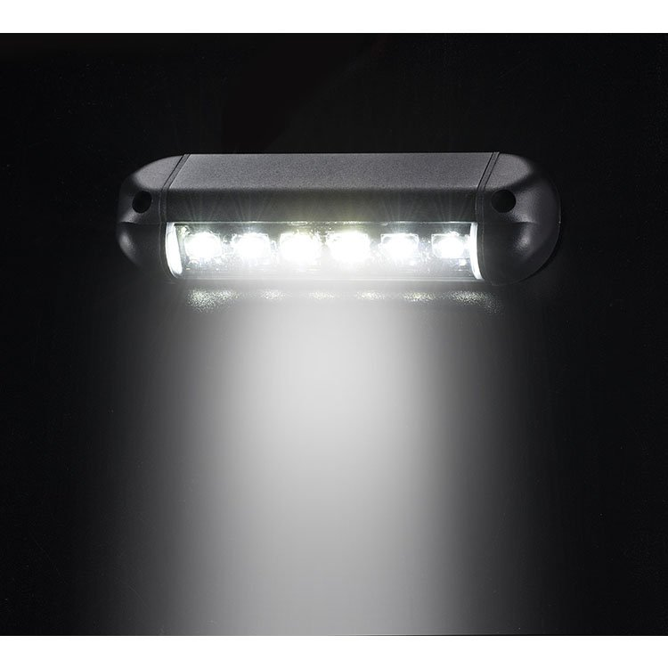 Scene Light 6 LED on wall active SL61-BK-W-V2