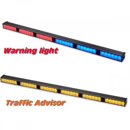 Traffic Warning Light TWDCS66-red_amber+blue_amber