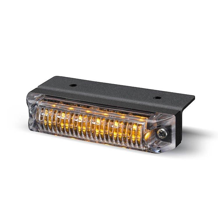 Body Mount Light Head 6 LED Amber Color ULH61-A-SAE