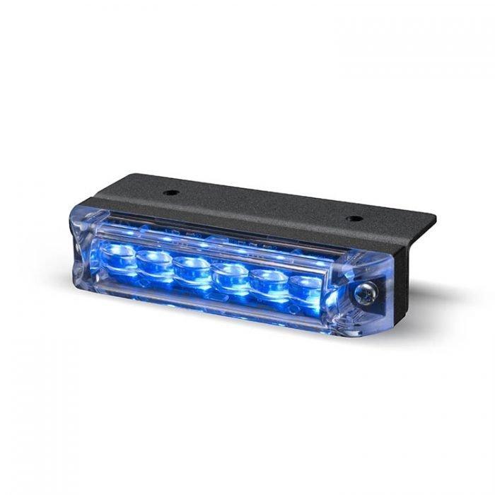 Body Mount Light Head 6 LED Blue Color ULH61-B-E9