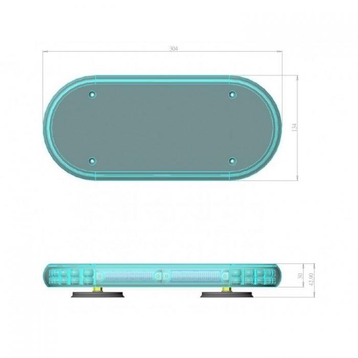 Mini Bar UMB66-P7 layout