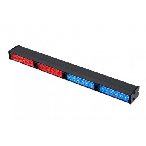 Warning Light WLS64S-RB red+blue color active