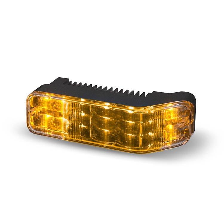 Body Mount Light Head 18 LED Amber Color WLH18-AA-E9