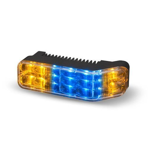 Body Mount Light Head 18 LED Blue+Amber Color WLH18-BA-E9