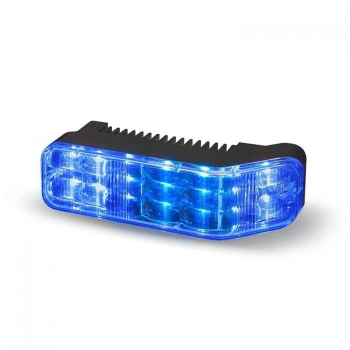 Body Mount Light Head 18 LED Blue Color WLH18-BB-E9
