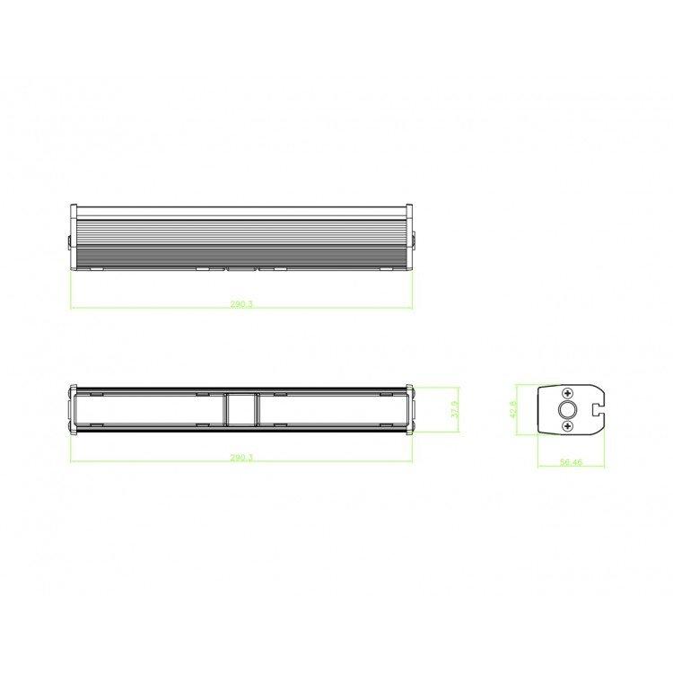 Warning Light WLS122-B-E9 layout